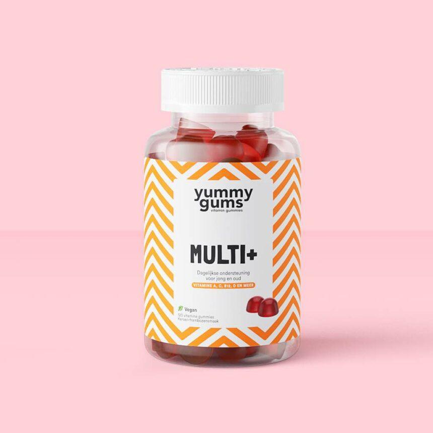 Beste multivitamine - Multivitamine vrouw - Multivitamine man - Yummygums