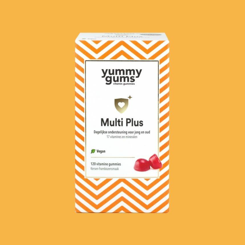 Multi Plus - Multi vitamines voor jong en oud in een heerlijke gummie (100% vegan)