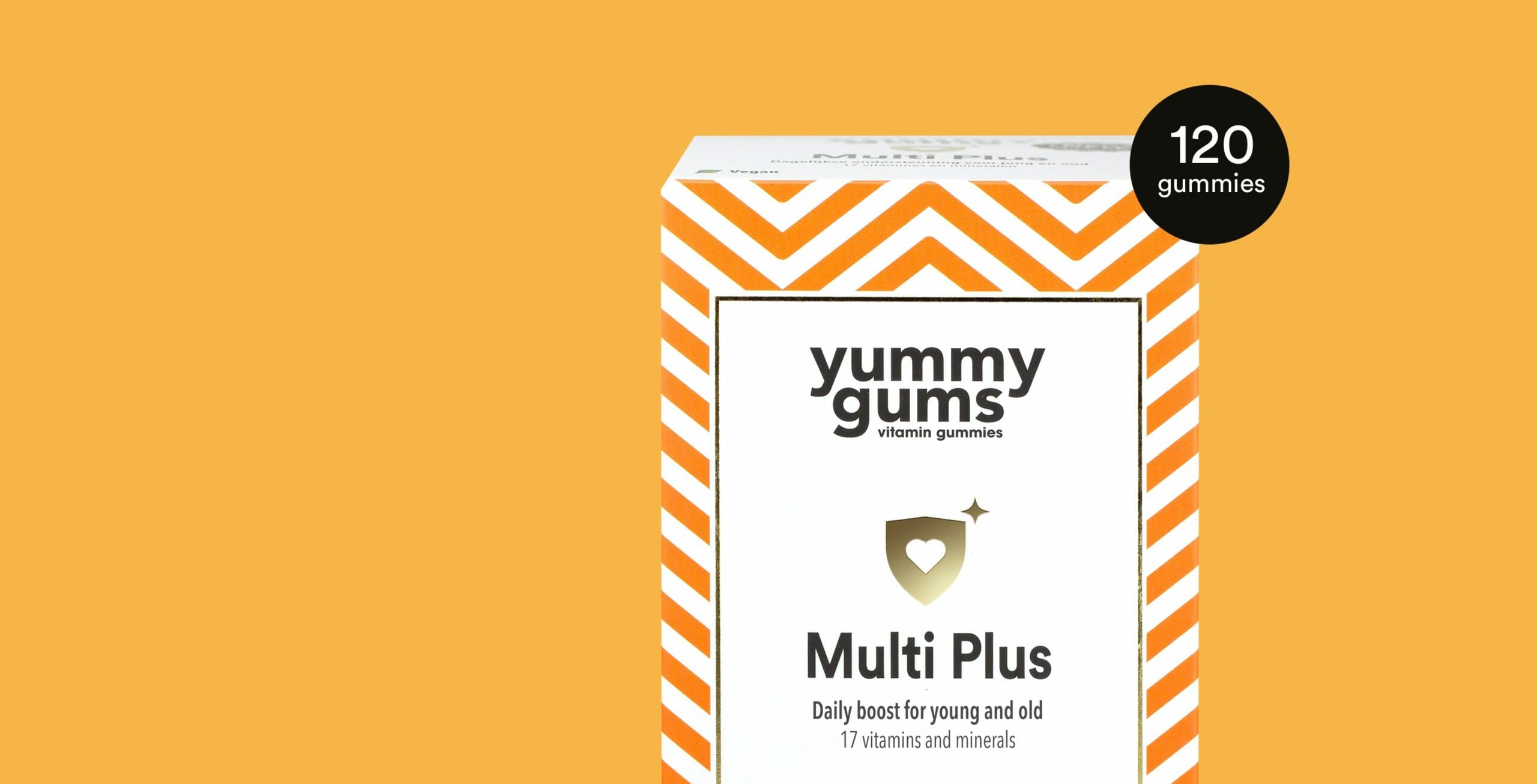 Try the Multi Plus as well - Daily vitamin boost for young and old with including 17 essential vitamins and minerals (also 100% vegan)