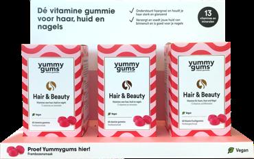 Dé vitamine gummie voor haar, huid en nagels - bevat wel 13 vitaminen en mineralen die zorgen voor een perfect resultaat