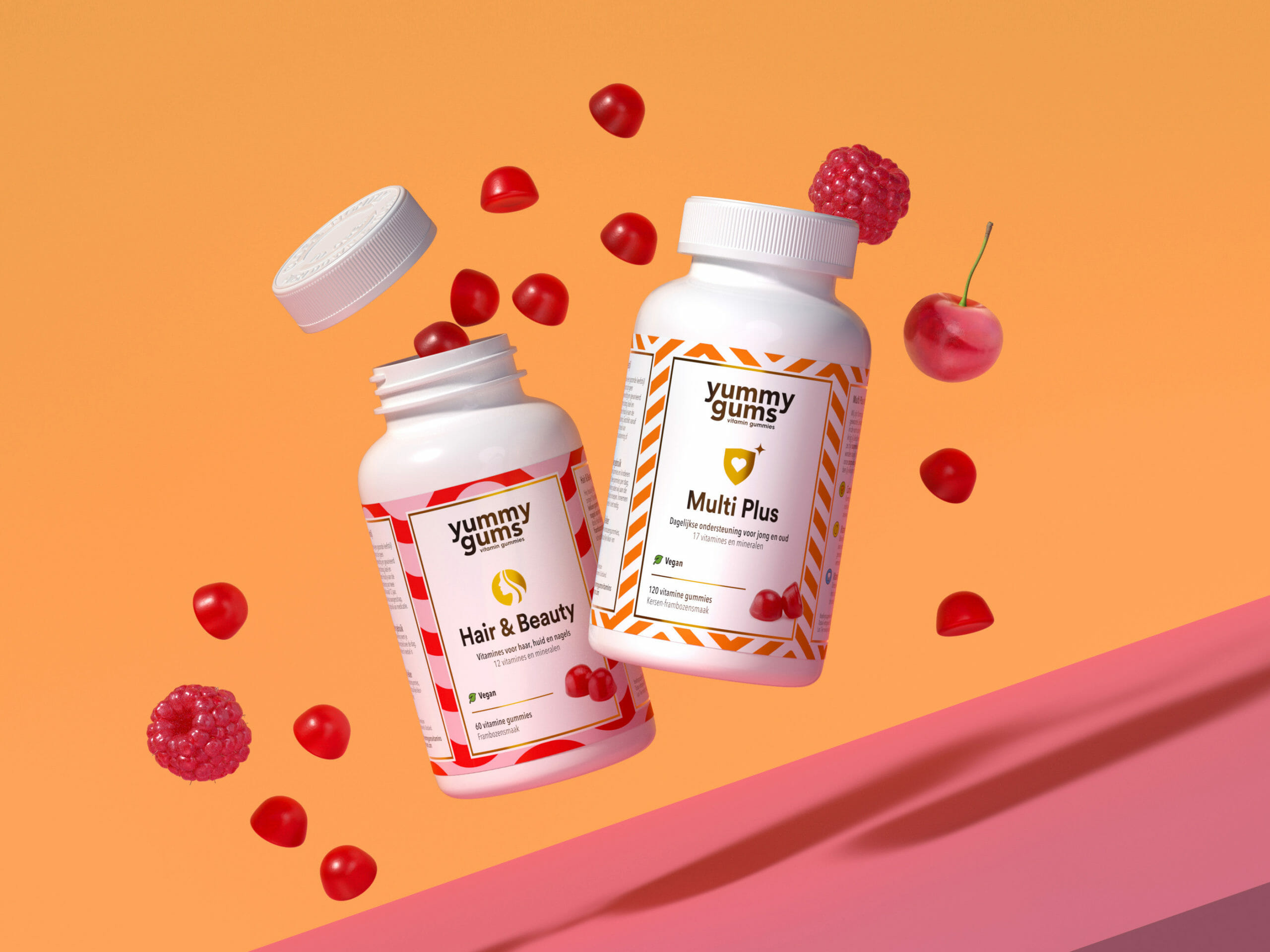 Eating vitamin gummies is so much fun. Everyday your essential vitamins to stay healthy in a yummy gummie