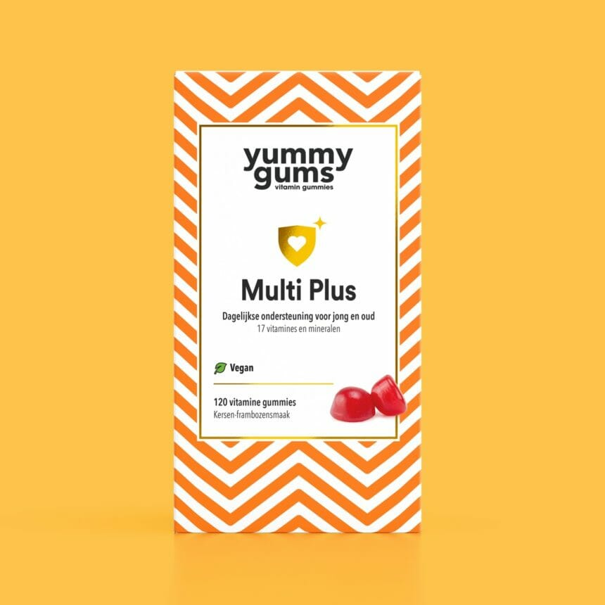 Multivitamine vrouw - Multivitamine man - Vegan multivitamine - Yummygums