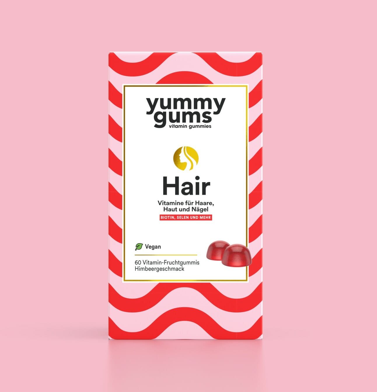 Haarvitamine kaufen - Veganes Vitamin kaufen - Natürliche Vitamine - Yummygums Hair & Beauty