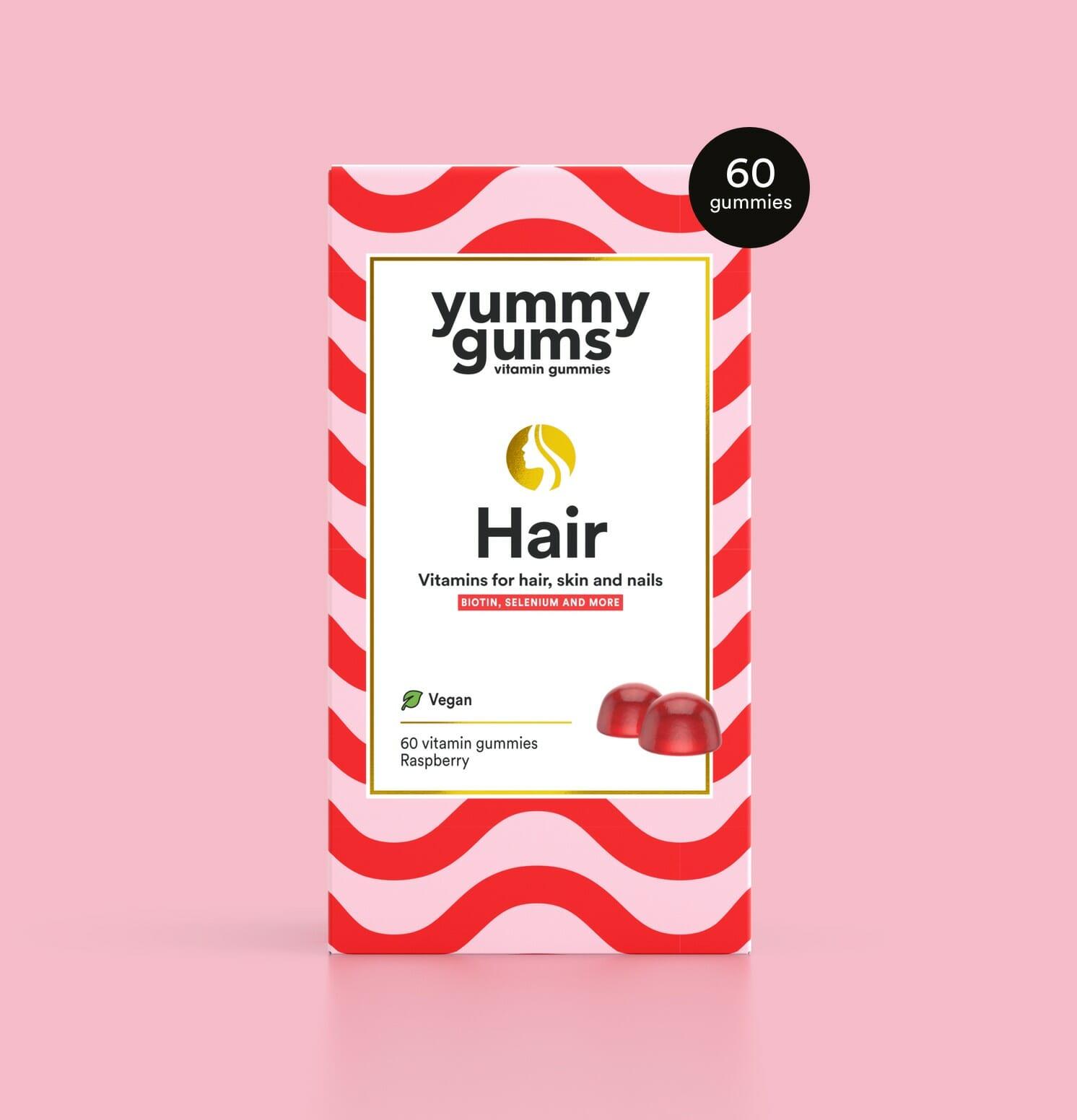 Vitamins for hair - Hair vitamins - Yummygums Hair & Beauty