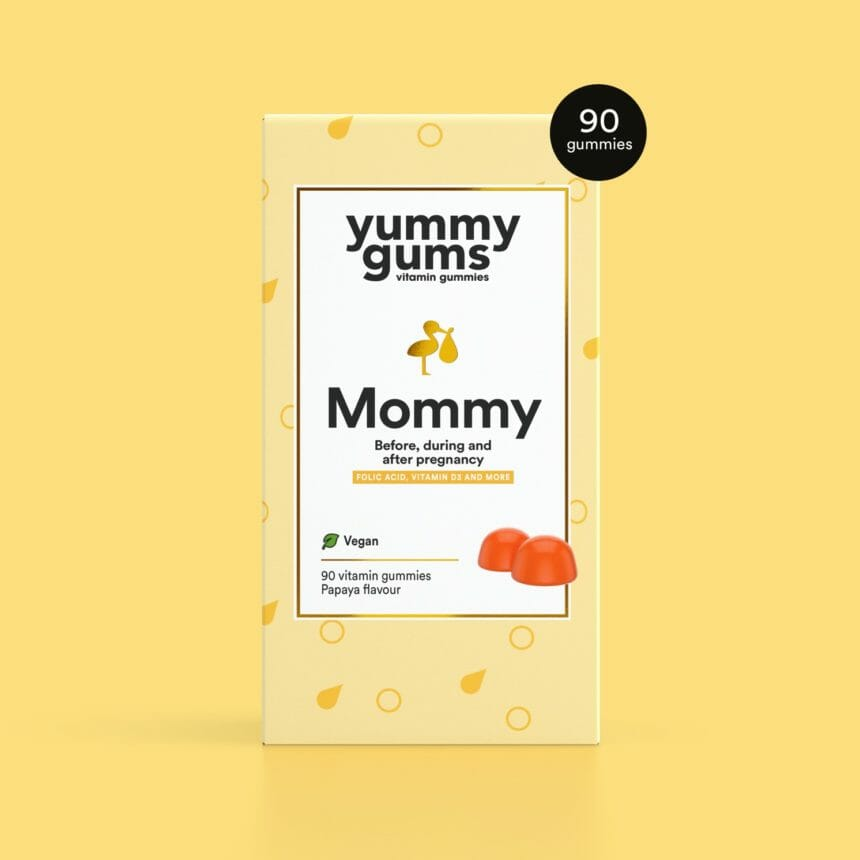 Yummygums Mommy - Pregnancy vitamins