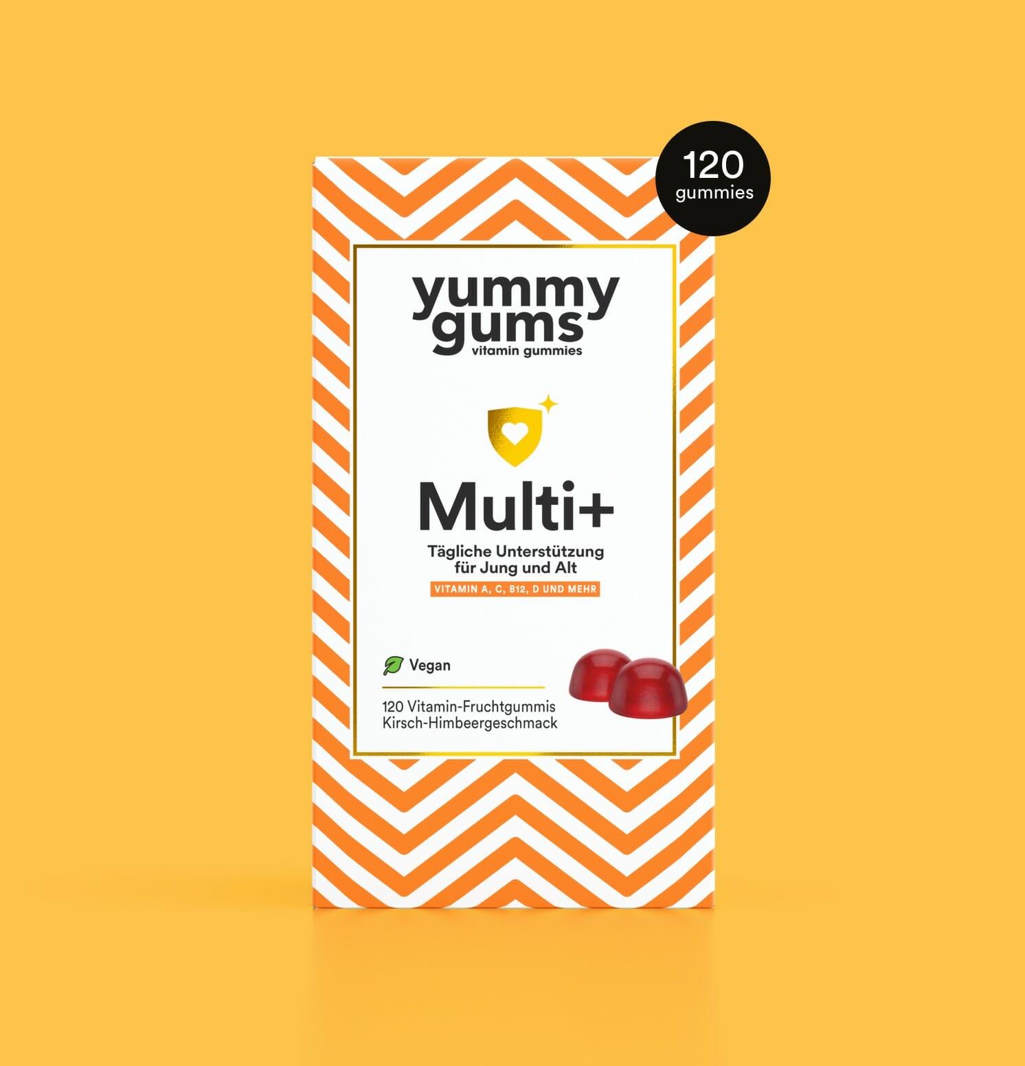 Bestes Multivitamin - Multivitamin Frau - Multivitamin Mann - Yummygums