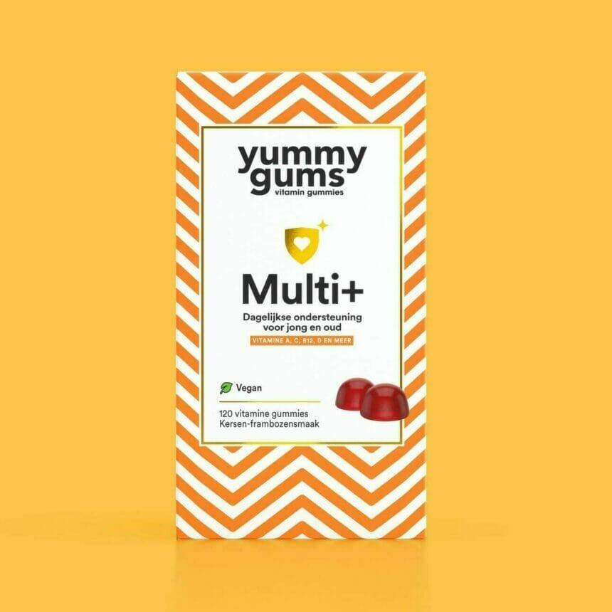 Multi Plus - Natuurlijke multivitamine kopen - multivitamine kopen - vegan multivitamines