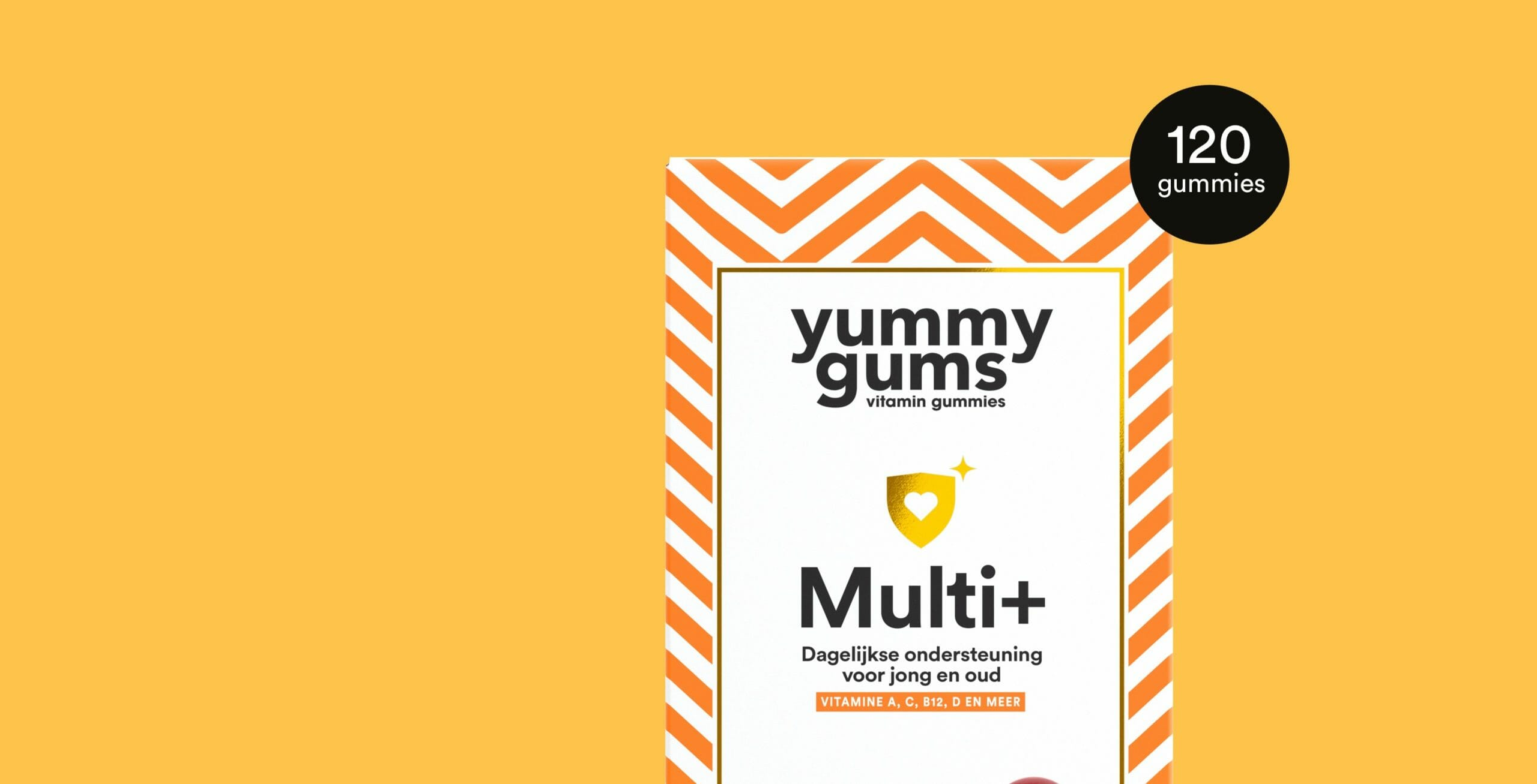 Probeer de multivitamine gummies van Yummygums - Multi Plus